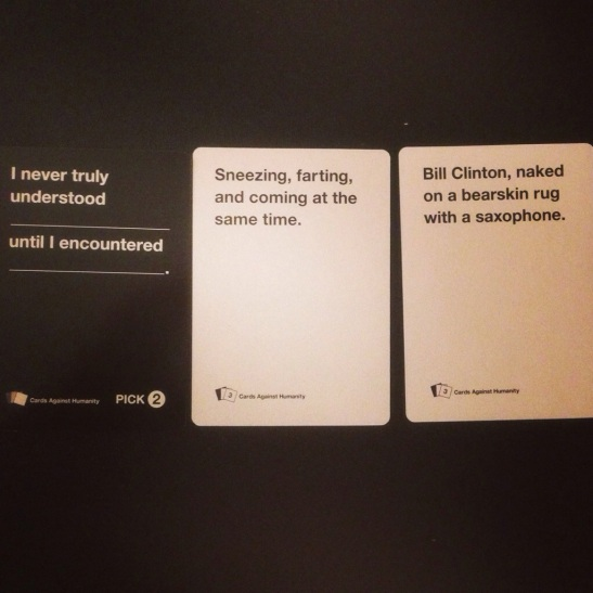 Cards Against Humanity - Julie101.com